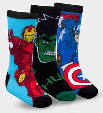 "Boys, Kids Avengers ""Captain America"" Comfy, Comfortable Socks- Size 2.5-3"