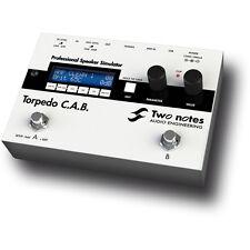 Two Notes Audio Torpedo C.A.B. Professional Speaker Simulator for Guitar/Bass