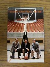 1982/1983 dispositivo di basket della carta: Boise State Basket Bronco 1982/1983 (ridotto