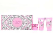 Versace Bright Crystal Absolu Gift Set 5ml EDP + 25ml Body Lotion + 25ml Shower