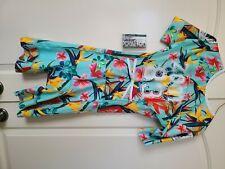 Zoot Aero Racesuit, women's size Large, Ltd Triathlon, floral pattern