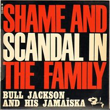 "BULL JACKSON (MOUSTACHE / BEN) ""SHAME AND SCANDAL"" POP SKA JAZZ 60'S EP"