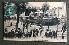 CPA. IVRY sur SEINE. 94 - Place de l'Hôtel de Ville. 1908.