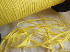 biais vintage ruban plat cordon fin jaune Tisserin clair lacet corsage 10 mètre