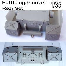 Jagdpanzer E-10 rear set----1/35 scale