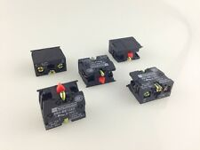10pcs ZB2-BE102C NC Contact Block Replace TELE 10A 600V