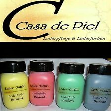 CDP Leather Colour Opaque-all Smooth Leather Leather Dyeing many Div. Colours - 500ml