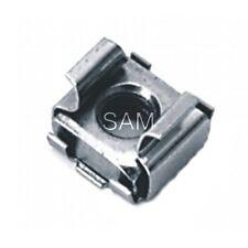 10 Stück Käfigmuttern Edelstahl A2 M8 (1,8-3,2mm) für Loch 12,3 - cage nuts