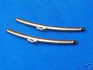 CLASSIC MINI STAINLESS STEEL WIPER BLADES ( PAIR )