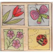 "HERO ARTS ""GARDEN WINDOWS"" RUBBER STAMP SET"