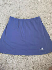 Womens Adidas Tennis Sports Skort Size 16