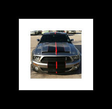 "2005 - 2013 Mustang  10"" 2 Color Rally Stripes Stripe Decal Decal Cobra GT500"