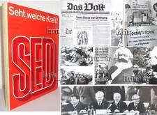 DDR Buch Bild- Doku SED Tradition -G.-Zukunft v. 1971 ( Karl Marx Lenin KPD ...)