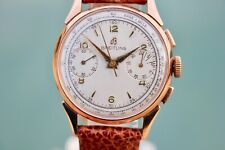 1953 Vintage BREITLING MODEL 1193 Chronograph Watch Serviced Venus/Valjoux 188