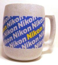 Nikon Vintage Plastic Coffee Cup Mug Acrylic 14 oz Advertising