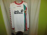 "FC Augsburg hummel Langarm Spieler Version Trikot 2006/07 ""Jack Wolfskin"" Gr.L"