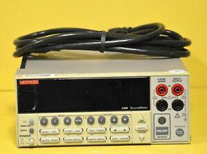 Keithley 2400 SourceMeter 20W Current Voltage Source Meter Measure Unit