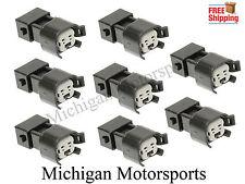 LS1 EV1 to EV6 EV14 USCAR LS2 LS3 LSX LT1 Fuel Injector Connector Adapter QTY 8