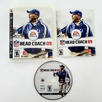 NFL Head Coach 09 (Sony PlayStation 3, 2008) Complete Tested & Works