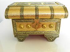 Wooden ethnic jewelry box