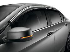 Genuine OEM 2013-2017 Honda Accord 4Dr Door Visor Set