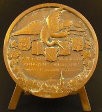 Médaille Christian Pfister Historien Médiéviste sc Daviel, 1932 Beblenheim medal