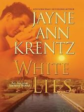 White Lies Bk. 2 by Jayne Ann Krentz (2007, Hardcover, Revised, Large Type)