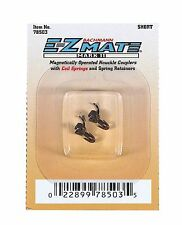 BACHMANN 78503 N EZ MATE MAGNETICALLY OPERATED KNUCKLE COUPLERS SHORT (1 pair)