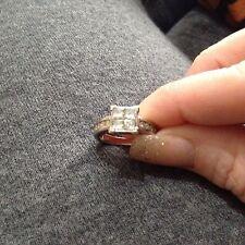 Ernest Jones White Gold 18 Carat Fine Diamond Rings