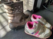 2 Paires de chaussure Rose ADIDAS ENFANT/ Pointure 24 et 25 / Botte Basket Fille