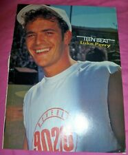 Luke Perry Teen Magazine Vintage clipping pin up Beverly Hills 90210 Mark Paul