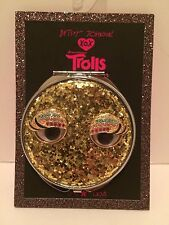Betsey Johnson Compact NWT XOX Trolls Glitter  New With Tags
