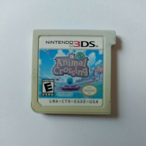 Animal Crossing New Leaf (Nintendo 3DS) Cart Only Tested Working Faded Label