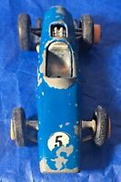 VTG DIECAST MATCHBOX  No 53  Blue #5 Race Car MADE IN ENGLAND By Lesney