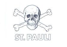 FC St. Pauli Aufkleber Sticker Transparent Logo Fussball #305