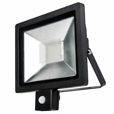 Powersave 30w 300w Slimline Compact Security Outdoor PIR Sensor Flood Light