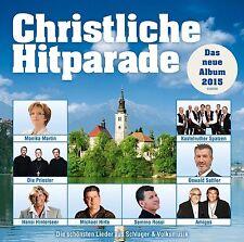 CHRISTLICHE HITPARADE-DAS NEUE ALBUM 2015 2 CD NEU