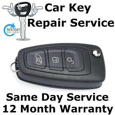Ford Transit Custom Van Flip Key Fob Remote Repair Fix Service Case+ New Battery