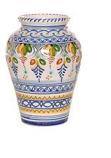 """Spanish Majolica Classica Vase - 10"""" Tall Spain, ceramic, pottery"""