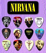 NIRVANA -- Guitar Pick Tin includes 12 Guitar Picks FREE POSTAGE