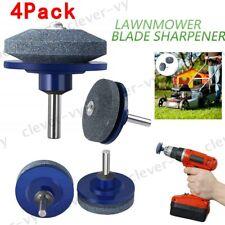 Lawn Mower Blade Sharpener Power/Hand Drill Garden Lawnmower Grinder Sharp Tool