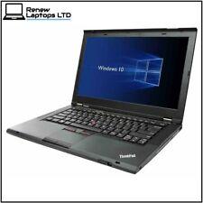 "Lenovo ThinkPad T430 14"" Laptop, i5-3320 2.6Ghz, 8Gb RAM, 180Gb SSD, Win 10"