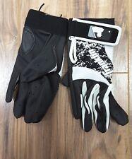 Franklin Youth Batting Gloves Baseball Size L Black and White