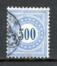 Switzerland - 1878 Postage Due -  Mi. 9 I K VFU (thin spot)