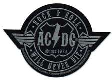"""AC/DC """"Wings"""" Patch/ricamate 602628 #"""