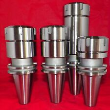 "CAT40 ER40 Collet Chucks 4 Pcs Tool Holders 3.15""-4""-6"" Balanced G2.5 @20,000RPM"