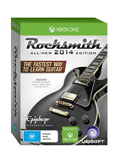 Rocksmith Rock Smith 2014 with Real Tone Guitar & Bass Cable Xbox One Game NEW