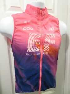 RAPHA EF Education First Pro Cycling Team Insulated Wind Gilet Vest Small S