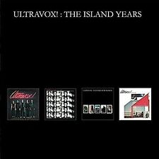 Ultravox The Island Years 4cd BOXSET