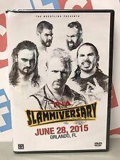 TNA Impact Wrestling Slammiversary 2015 DVD WWE Jeff Jarrett Matt Hardy Aries